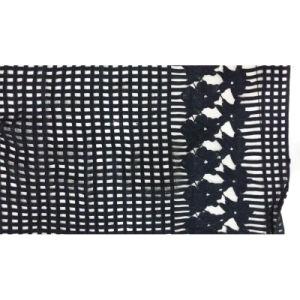 100 % polyester Tissu de couleur noir de la Dentelle 160