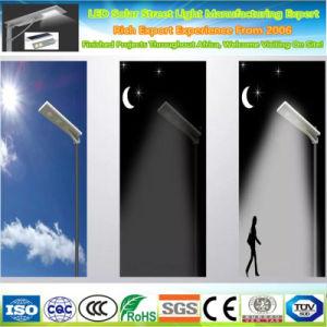 Высокий люмен солнечной улице лампы освещения в Саду IP65 инфракрасный датчик все в одном из легких с 5 лет гарантии