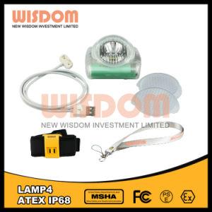 多目的ランプの知恵Lamp4のヘッドライト、ハイテクなLEDの帽子ランプ