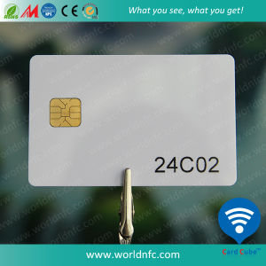 Compatibile a At24c02 Fudan FM24c02 Smart Contact Card con Low Cost