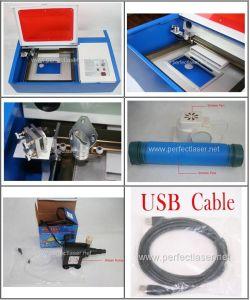소형 Laser는 고무를 위한 PE 40b Laser Engraver& 절단기를 각인한다