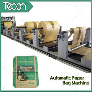 Válvula automática de alta calidad bolsas de papel pegado haciendo maquinaria