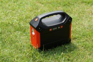 Família Usar sistema de grade Powerstation Solar Gerador Solar 100W/155Wh