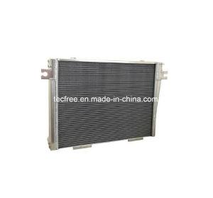 中国のアルミニウム版のタイプトラクターオイルクーラー