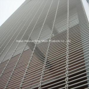 Стены и строительства используется декоративный проволочной сеткой