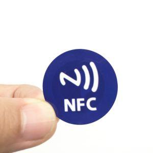 인쇄되는 로고를 가진 13.56MHz NXP 고전적인 1K /Ntag215/Ultralight C RFID 스티커