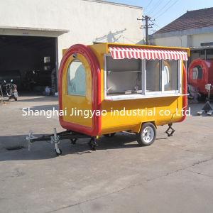 Orange Plaque Griddle Churros Les aliments commerciaux à gaufres chaudes avec 2 fenêtres de service du chariot