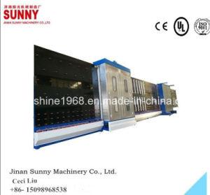 セリウムの縦の自動Iguによって二重ガラスをはめられるガラス機械、絶縁の低いEのガラス生産ライン