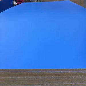 Azul / blanco y negro y madera de melamina color placa MDF laminado