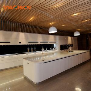2018 de modulaire Volledige Keukenkast van de Oppervlakte van het Satijn van de Ontwerpen van de Keuken 2PAC