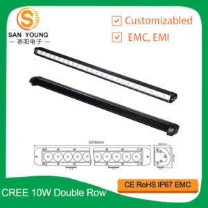 barra di riga 260W LED del CREE della barra chiara di 10W LED singola fuori strada