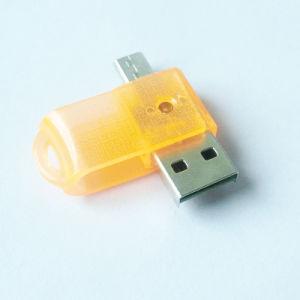 인조 인간 OTG 카드 판독기 지원 SD/TF (OM-RC006)를 위한 USB 카드 판독기