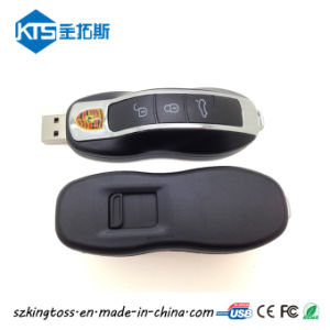 Porsche пластиковый ключ автомобиля флэш-накопитель USB в подарок для продвижения
