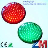 明確なレンズが付いているEn12368によって証明される赤及びこはく色及び緑のLEDの点滅の信号のモジュール