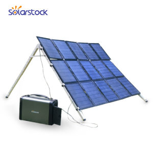 L'énergie solaire hors réseau pour la maison du générateur solaire