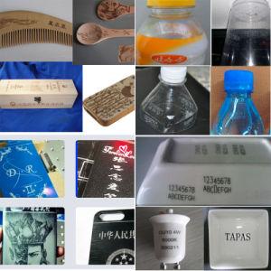 Cnc-Fliegen CO2 Laser-Markierungs-System für Plastikgetränk-Flasche