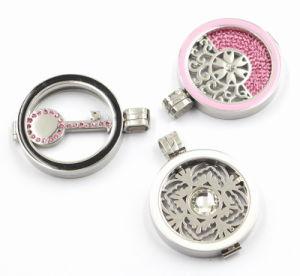 Levering voor doorverkoop van 316L het Medaillon Jewelry van het Roestvrij staal Fashion met Enamel Surface