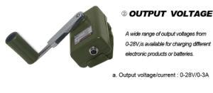 Manivelle de la portable 30W générateur de puissance (SHJ-SD30W)
