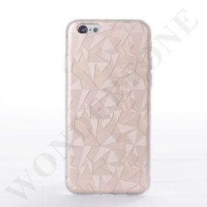 precio de fábrica para 3D de lujo en caso de la banda de TPU para iPhone