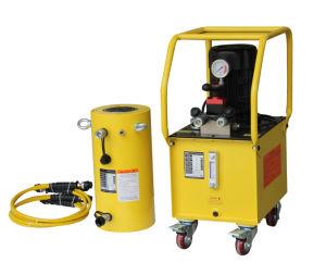 150 ton 300 mm de curso do cilindro hidráulico de retorno do óleo hidráulico