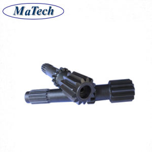 China Fornecedor 42CrMo4 Aço Forjado Eixo Forjar Eixo Engrenagem 4140
