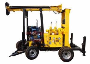 Jxy400 monté haut de la remorque de l'efficacité de l'eau 400m de la machine de forage de puits de la boue de la capacité de perçage