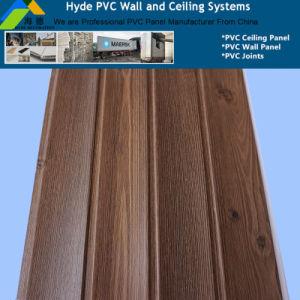 la larghezza di 25cm ha laminato il comitato del PVC della decorazione usato per la parete