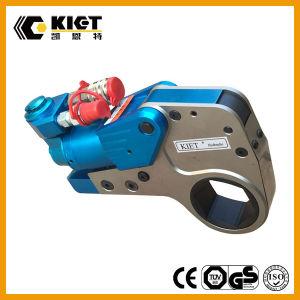 Kietのブランドの六角形カセットAlチタニウムの合金材料が付いている油圧トルクレンチ