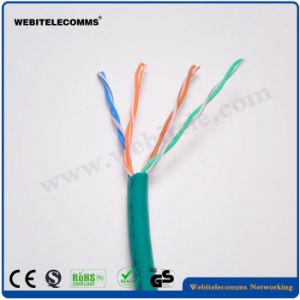 Unshielded LAN Cat5e van pvc U/UTP Kabel voor het Gebruiken van het Netwerk