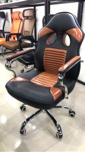 賭博の椅子を競争させるPU AdjustabeのArmrestのコンピュータ