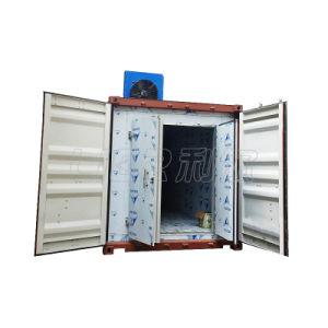 Lier 20t täglich große containerisierte Flocken-Eis-Maschine
