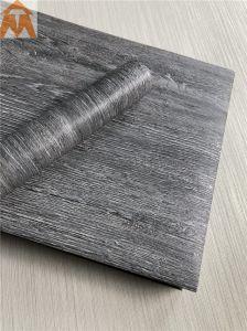 Film PVC décoratifs avec du grain du bois en contournant les appuis de fenêtre