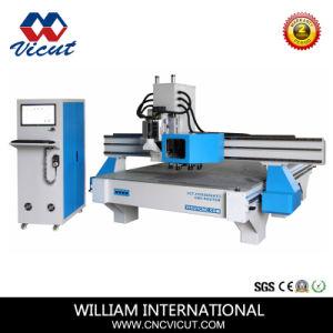 Alumínio/acrílico/MDF/PVC/Madeira gravura CNC ATC e máquina de corte Router CNC