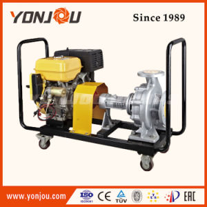 De diesel Pomp Met motor van de Hete Olie