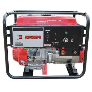 Портативный 190 200 210 А 13HP 5 КВА бензиновый генератор