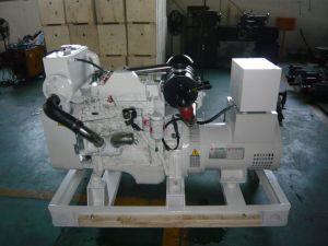 Cumminsの海洋のディーゼル発電機セット(30KWへの400KW)