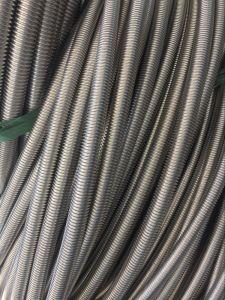 Het roestvrij staal plooide de Pijp van het Flexibele Metaal