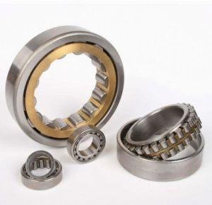 Rodamiento de rodillos cilíndricos de acero cromado de cojinete de rodillos NSK (NU206)