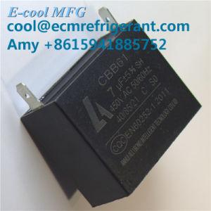 De Condensator van de Ventilator van het Diagram van de bedrading Cbb61 6UF Sh 40/70/21 250V