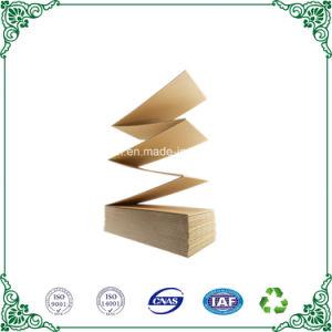 Artesanía de la estraza Mositureproof papel corrugado de cartón plegado en acordeón de cartón de embalaje de envío