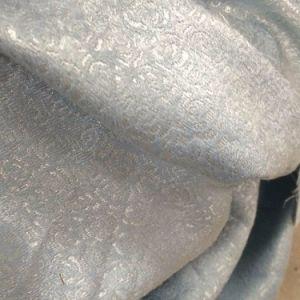 Cortina de ventana magnífica del apagón del bordado del poliester (26W0025)