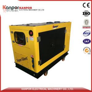 diesel van de Motor van 30kw/37.5kVA 32kw/40kVA Japan Yanmar Elektrische Stille Generator Genset