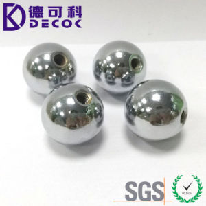 sfera dell'acciaio inossidabile di 15mm con il foro filettato M4 per la vite
