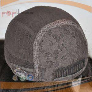 一等級のバージンカラー毛の絹の上のかつら(PPG-l-01316)