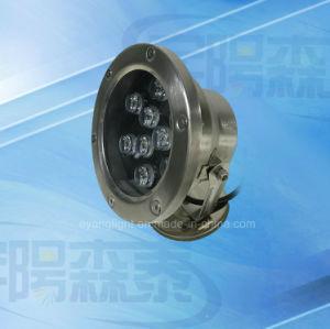 6W LED sotterraneo IP68 chiaro per l'indicatore luminoso subacqueo della piscina