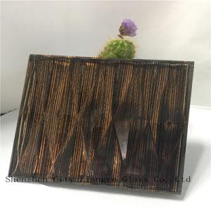 10mm+miroir de la soie+5mm verre feuilleté/Craft Verre/Verre trempé/pour la décoration en verre de sécurité