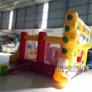 5x4m piscina inflable Castillo personalizada saltando con ventilador de la Ce