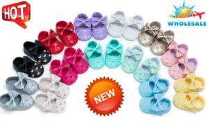 Commerce de gros bébé Chaussures Chaussures Toddler Tassel brodé à l'intérieur des chaussures de bébé