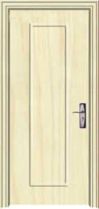 Haute qualité à faible prix de l'intérieur porte en bois en PVC (PVC porte)
