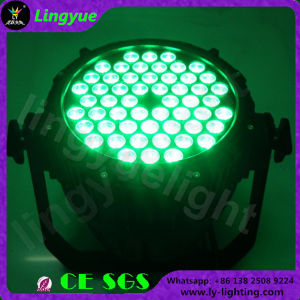 De alta calidad impermeable DMX Auto 54X3W de luz LED PAR
